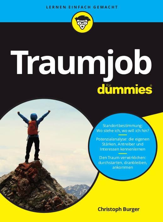Traumjob für dummies coverbild