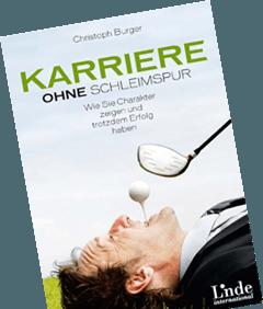Buch-Cover von Karriere ohne Schleimspur